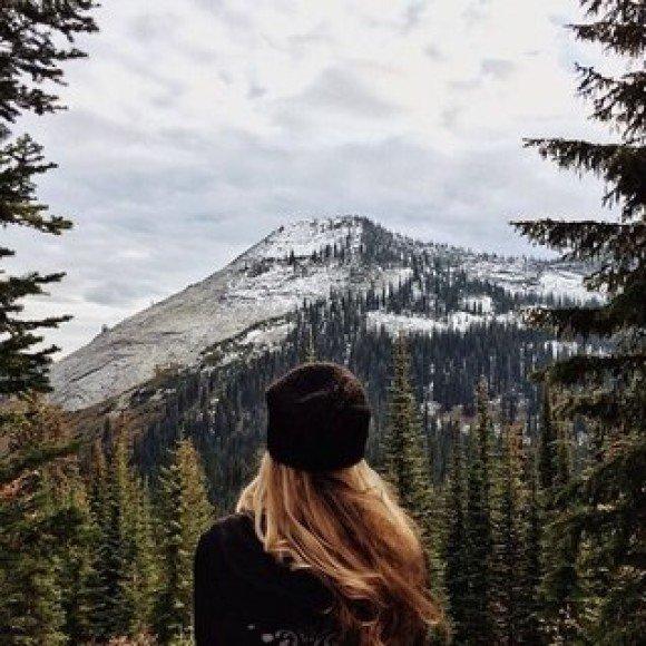 видео фотосессия девушек снежные горы